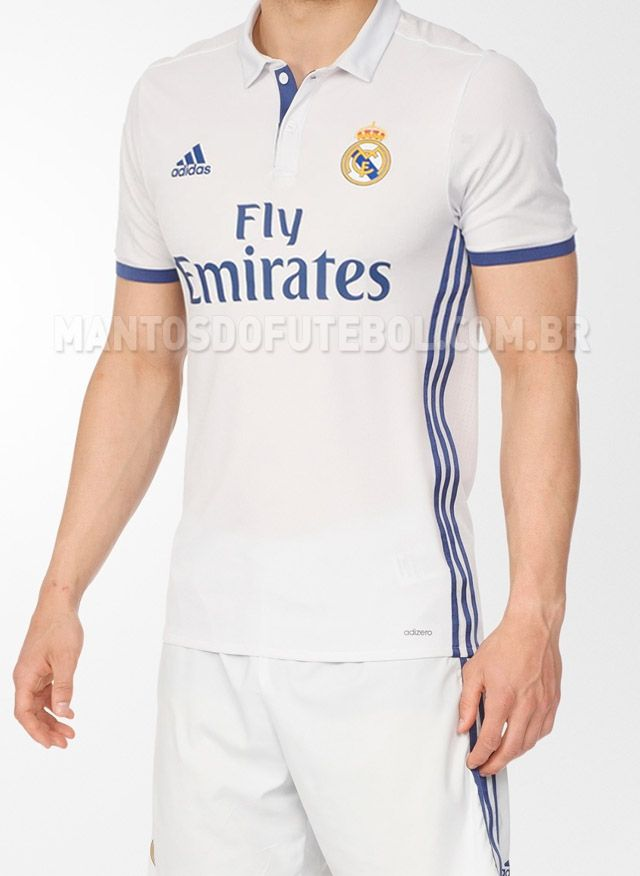Camisas do Real Madrid 2016-2017 Adidas  09b759b90ec38