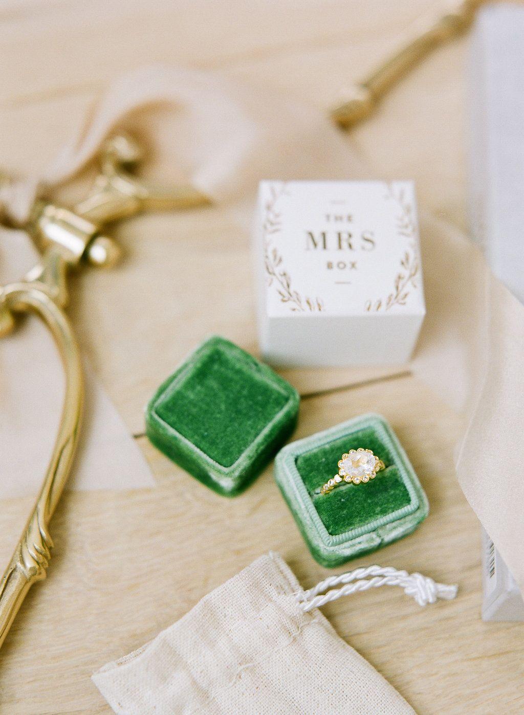 Vintage Ring Box   Vintage ring box, Ring and Weddings