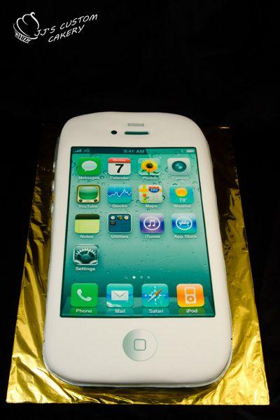 iPhone Cake Apple crrraaazzyyy Pinterest Iphone cake Cake and