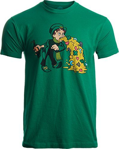 40808ff7b Irish Leprechaun Tossing Lucky Cookies | Funny St. Patrick's Day for Men T- shirt-Large Kelly Green