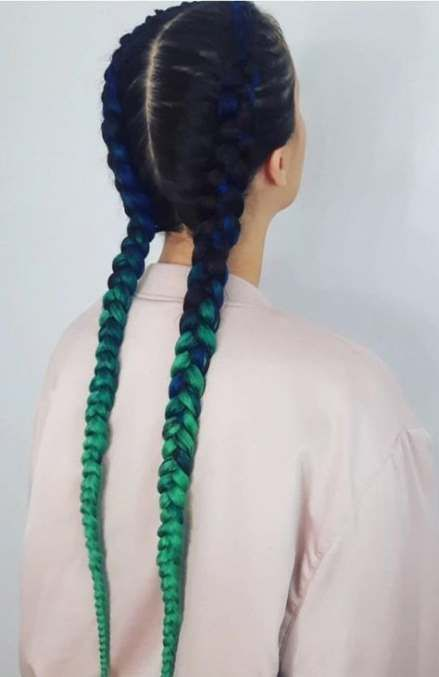 New braids with extensions french 47 ideas   - Goddess Braids - #Braids #Extensions #French #Goddess #Ideas #goddessbraids