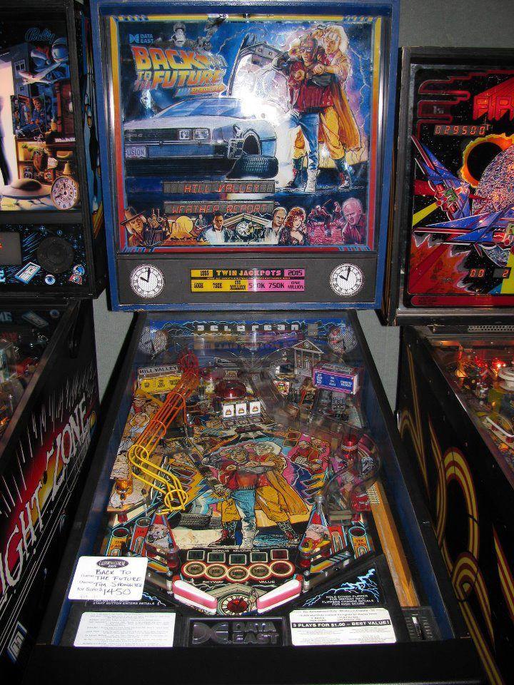 Sentimental Value Back To The Future Pinball Machine Pinball