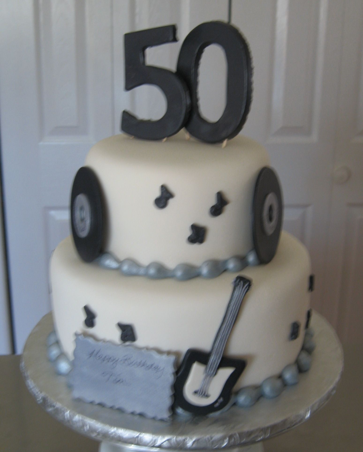 Music Man Cake Th Birthday Cake For A Guy Named Tom Who Loved - Birthday cake for a guy