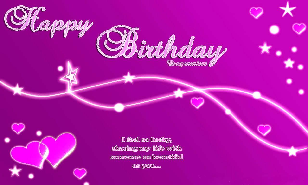 happy birthday wallpaper hd Google Search – Birthday Greetings Sample