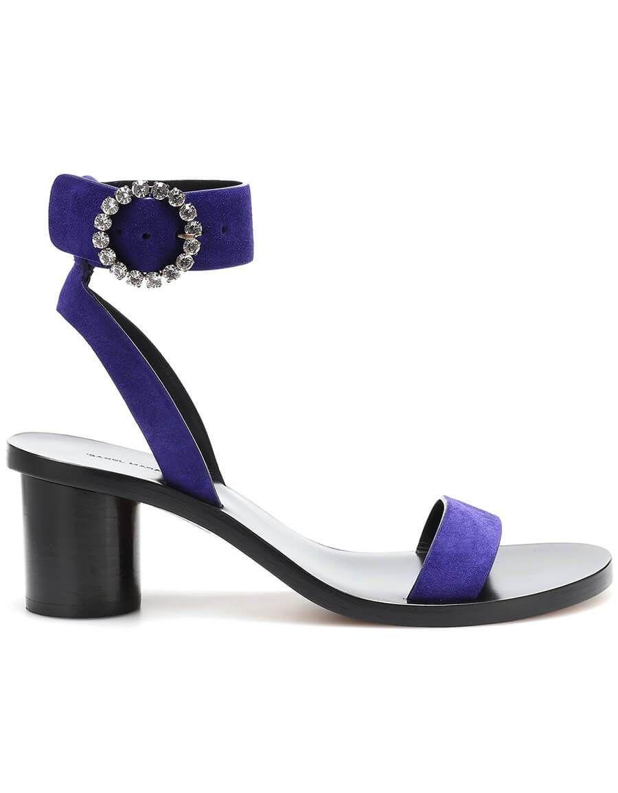 80ece31797c3 ISABEL MARANT Jaykee embellished suede sandals in 2019