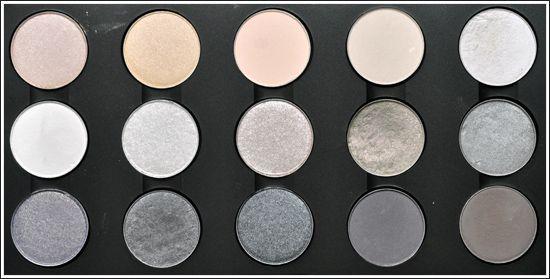 MAC Eyeshadow Palettes: Permanent Eyeshadows (April 2010) | hair and