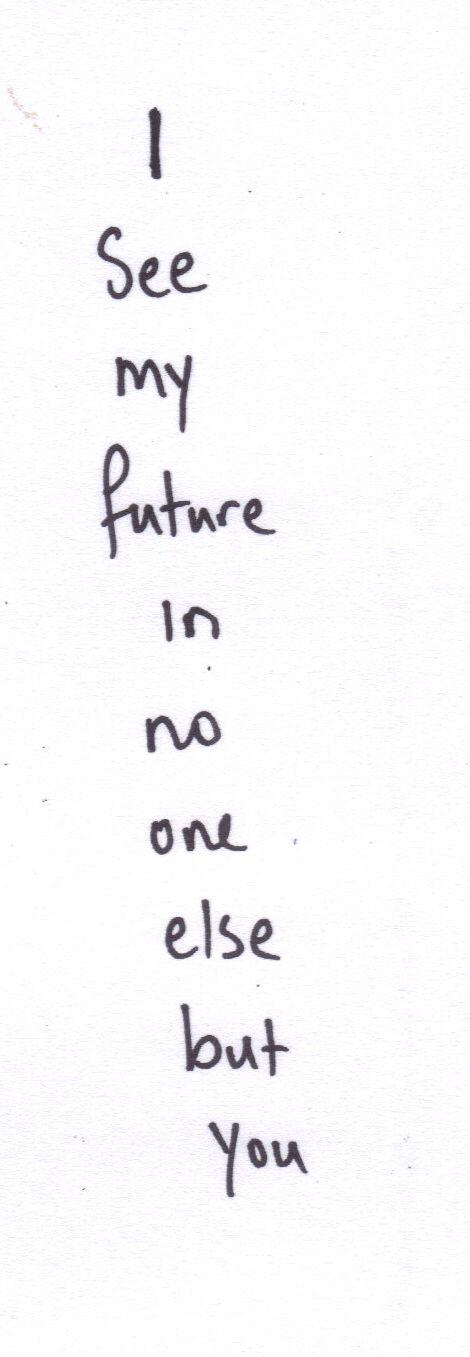 I See My Future