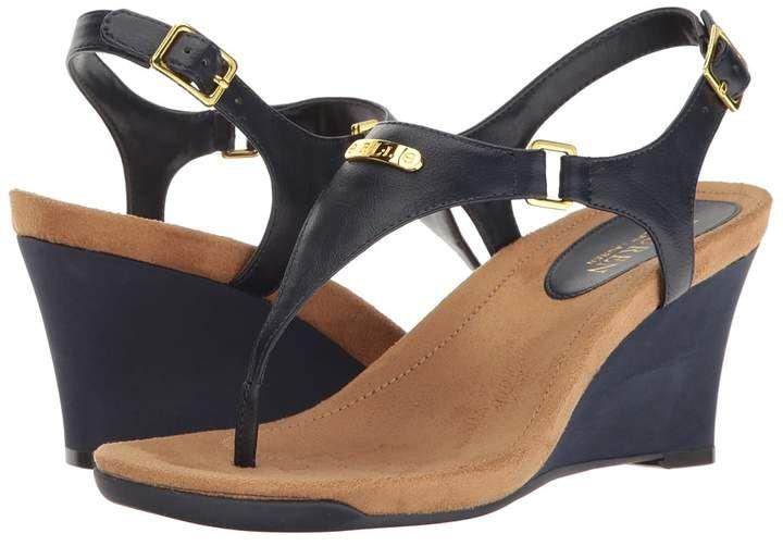 2da437a61a Lauren Ralph Lauren Nikki Women's Wedge Shoes | shoes | Pinterest ...