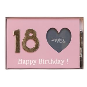 Photo Frame 18th Birthday (Pink)