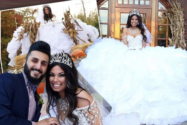 My Big Fat Gypsy Wedding Dress This 36 000 Bridal Gown Costs More