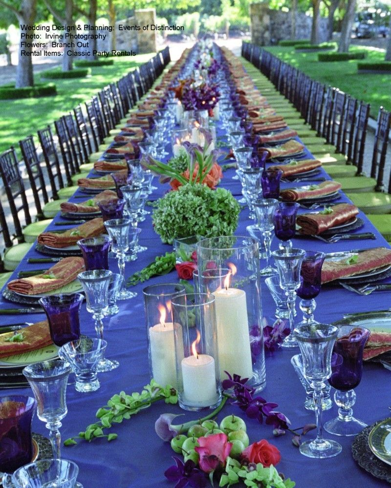 Wedding Colours 3 Main Colours Black White Royal Blue 2