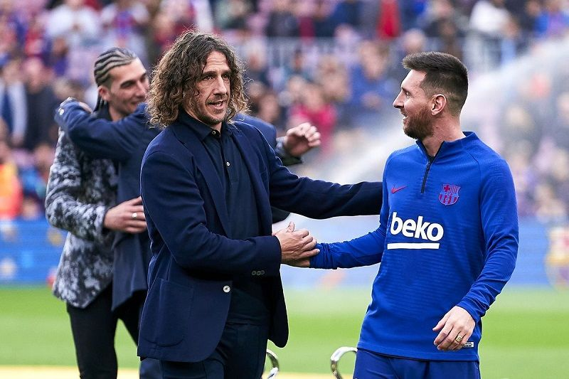 Messi Can Play On Until He S 38 Puyol In 2020 Lionel Messi Messi Ronaldo