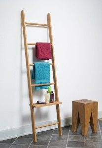 handtuchhalter ohne bohren kleiderleiter eiche ge lt edle handtuchhalter handtuchhalter. Black Bedroom Furniture Sets. Home Design Ideas