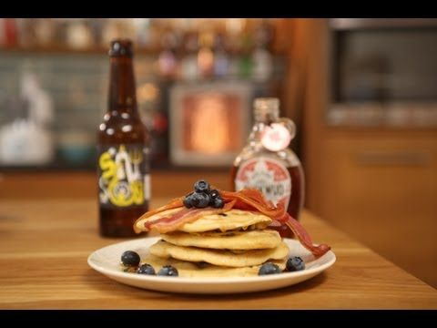 Beer pancakes recipe with bacon and blueberries craft beer channel beer pancakes recipe with bacon and blueberries craft beer channel forumfinder Images