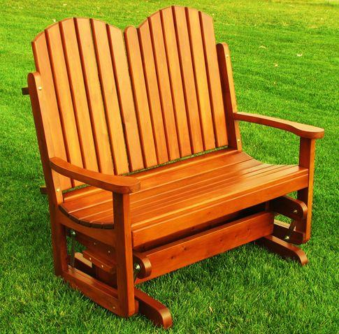 rocking chair canadien ou banc sur roulement billes pour se bercer doucement deux. Black Bedroom Furniture Sets. Home Design Ideas