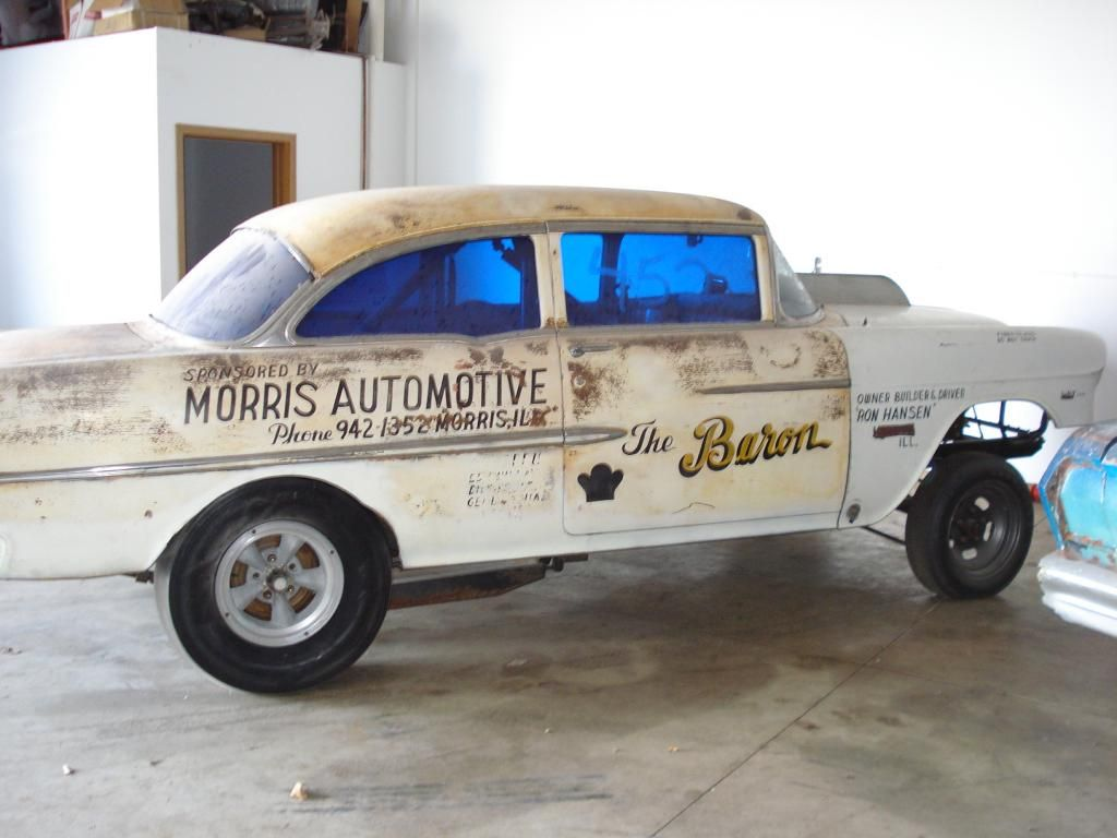 All Chevy 55 chevy for sale : 1955 Chevy gasser, as found | Supercars/Musclecars-For Sale | The ...