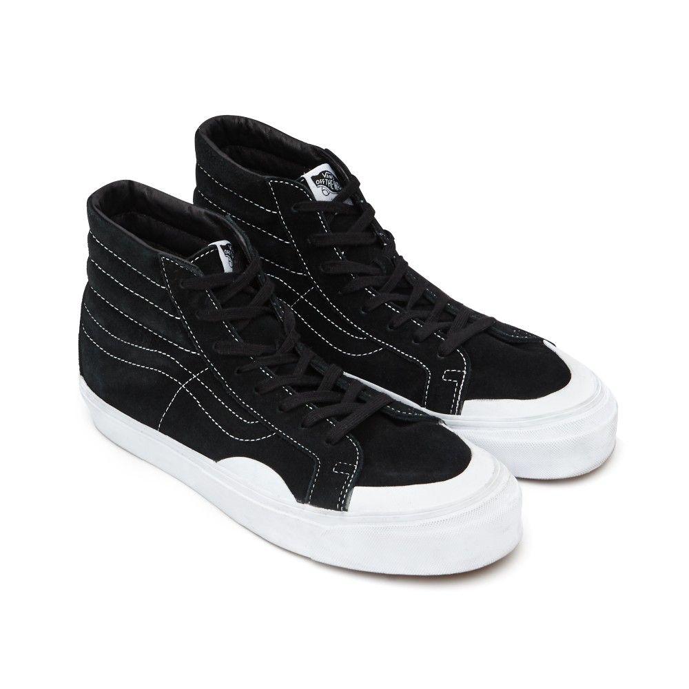 Gosha Rubchinskiy x Vans SK8-Hi Suede Sneakers (Black)