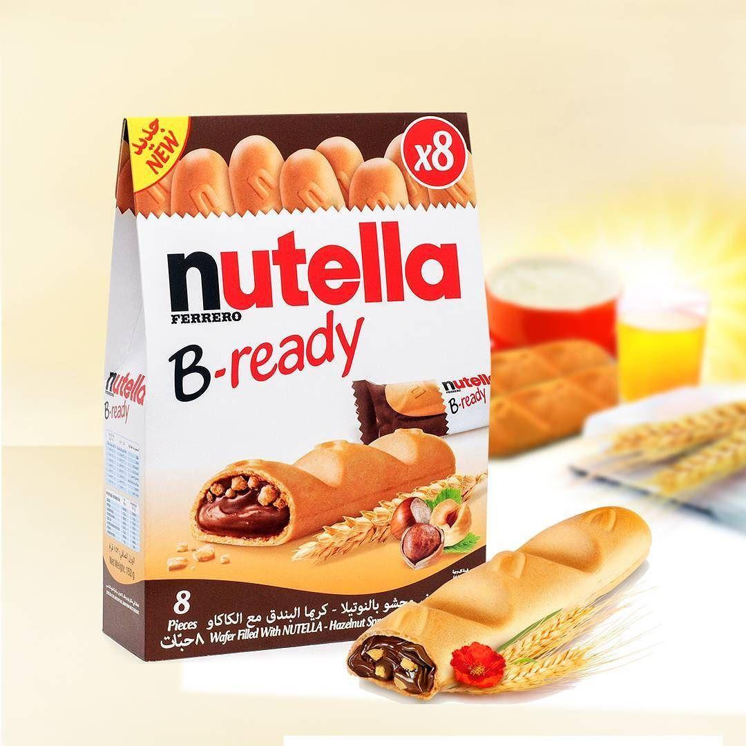 فيريرو بي ريدي بسكويت محشي بشوكولاتة النوتيلا متوفر في سيفكو Ferrero Nutella B Ready Available In Saveco Cereal Pops Pops Cereal Box Snack Recipes