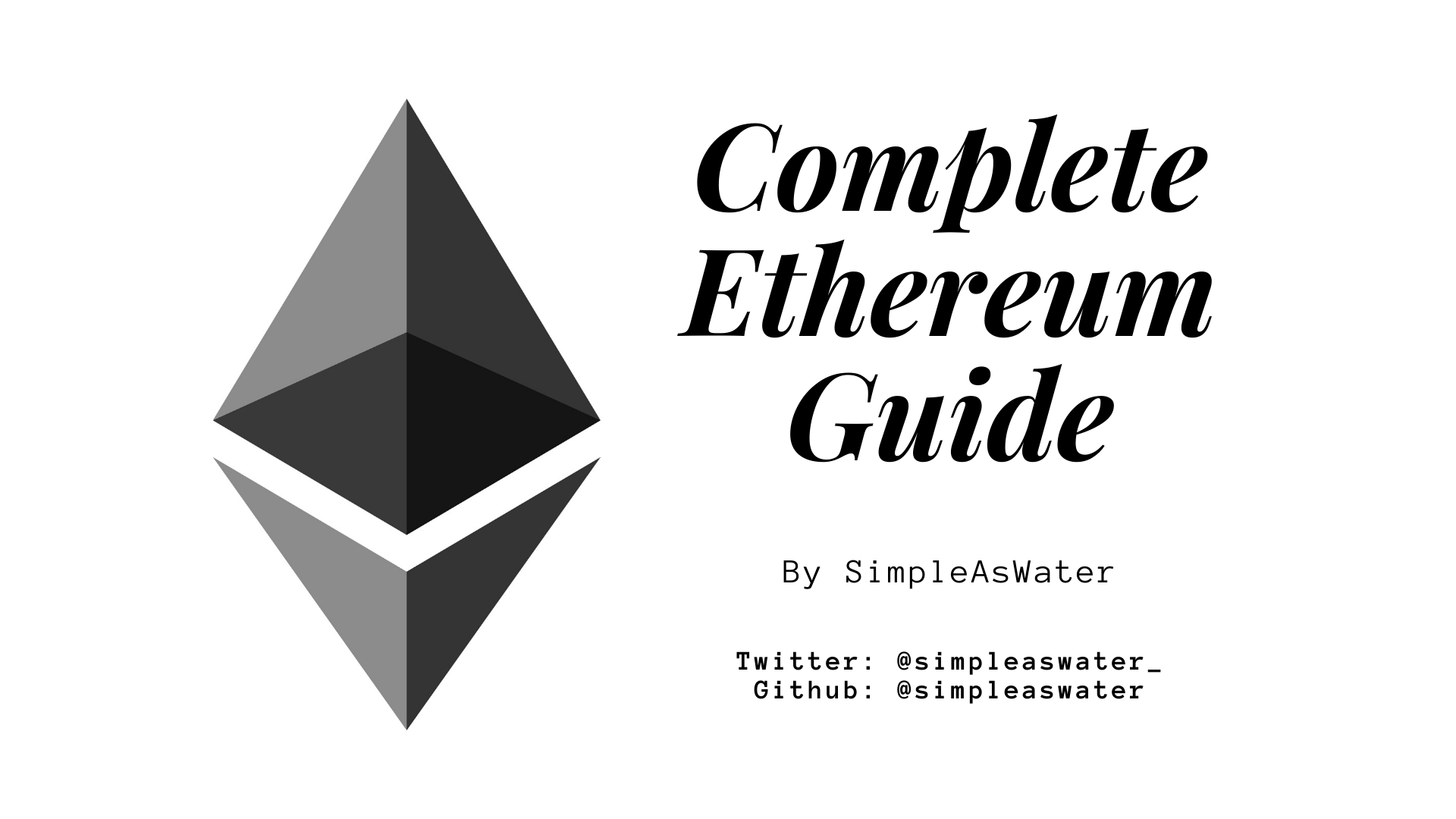 Ethereum: Complete Guide