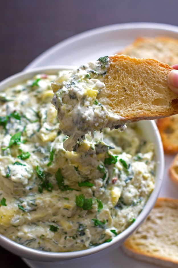 Spicy spinach and artichoke dip #crockpotspinachandartichokedip Spicy Spinach and Artichoke Dip Recipe #crockpotspinachandartichokedip
