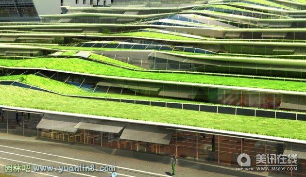法国Jean Moulin 中学校园设计
