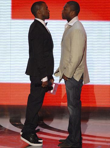 Kanye West Vs 50 Cent 17 Ugliest Celebrity Feuds Wife Snatchers And Obsessed Stalkers Hip Hop Celebrity Feuds Hip Hop Culture