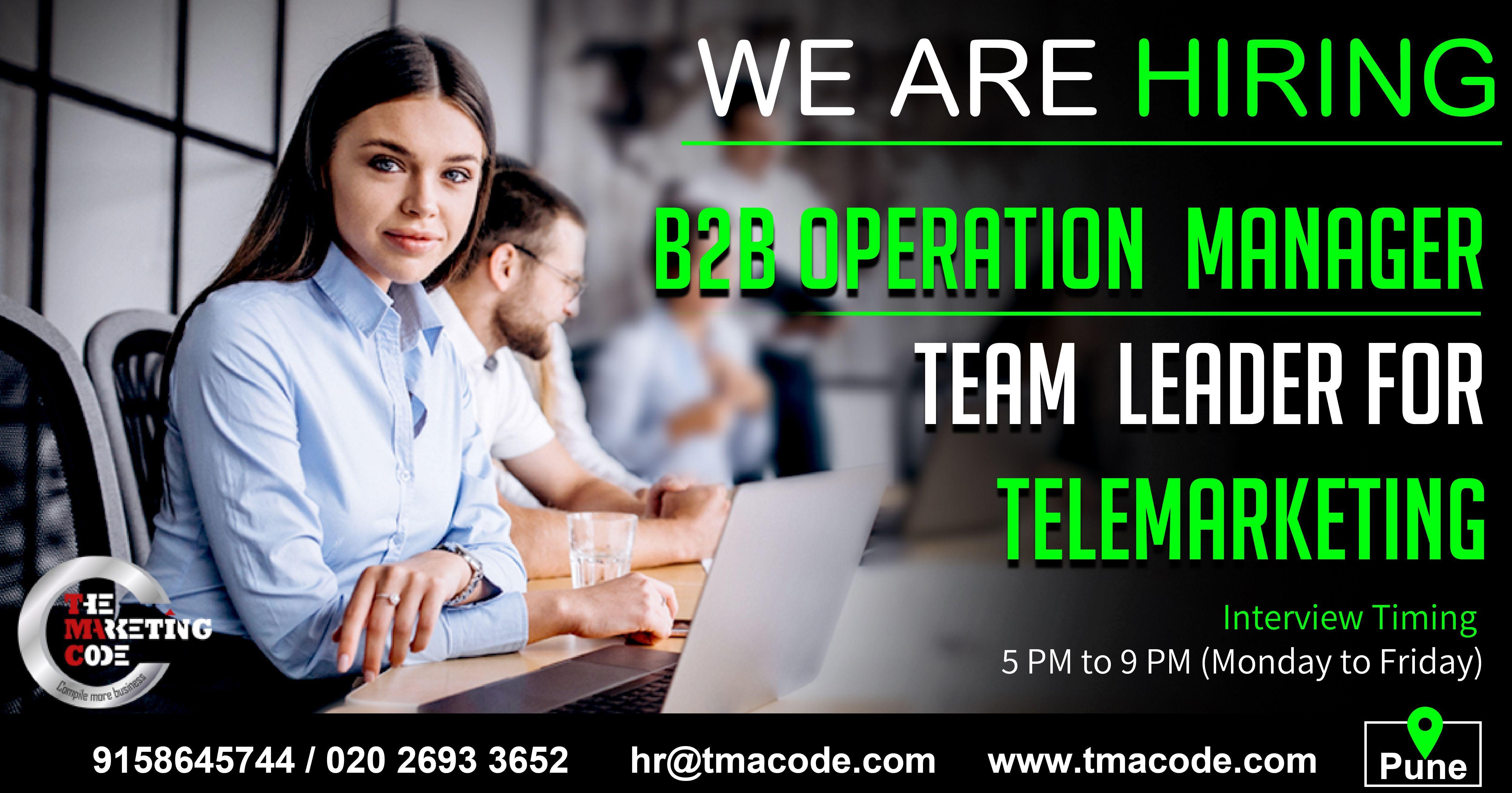 Job Hiring Operations Management Job Opening We Are Hiring