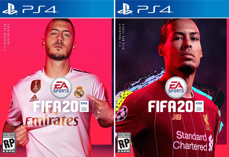 Virgil Van Dijk And Eden Hazard Announced As Fifa 20 Cover Stars