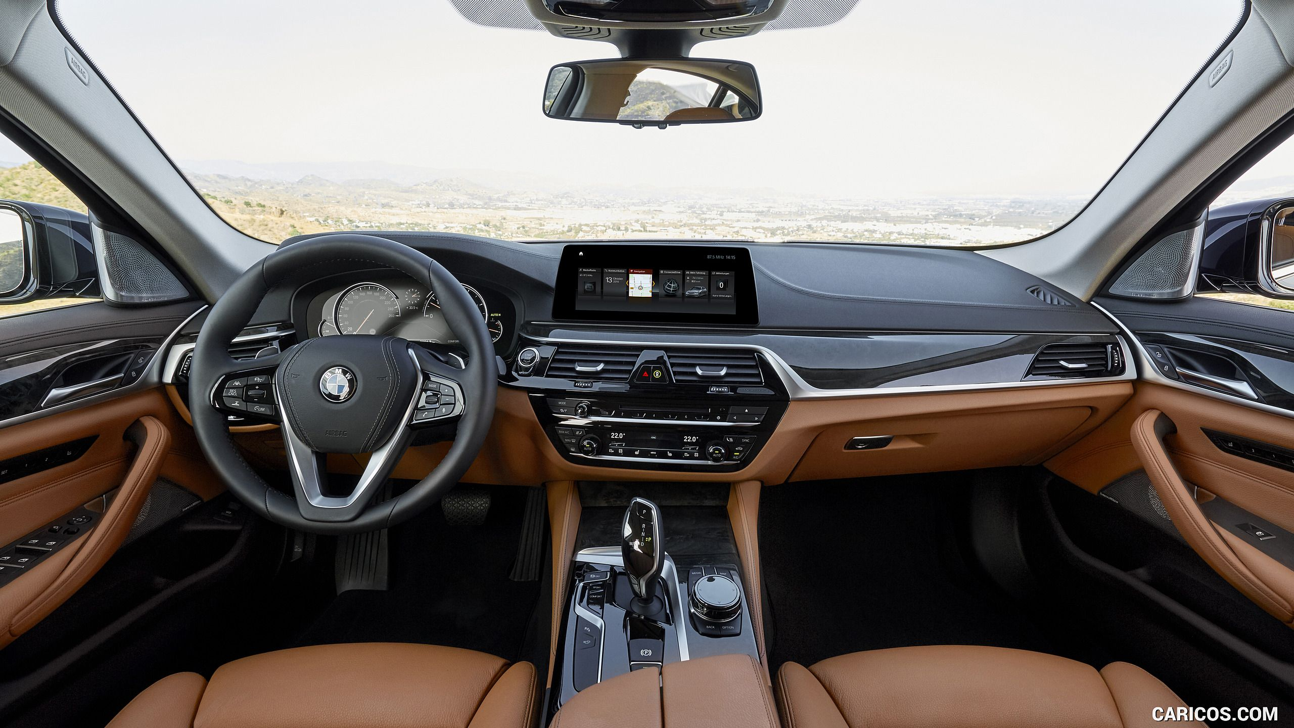 2017 Bmw 5 Series 530d Xdrive Diesel Luxury Line Interior Cockpit