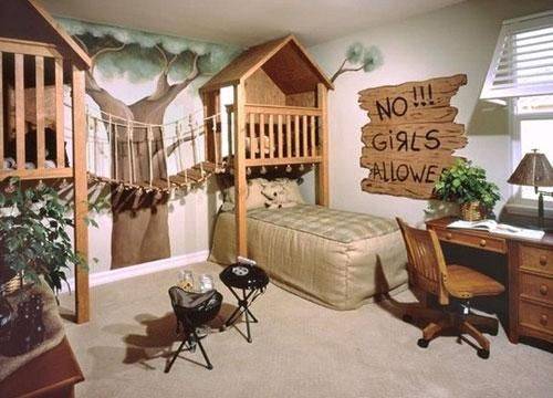 Cool and Fun Indoor Entertainment Area for Kids   Furnikidz.com   Best Children Furniture Design