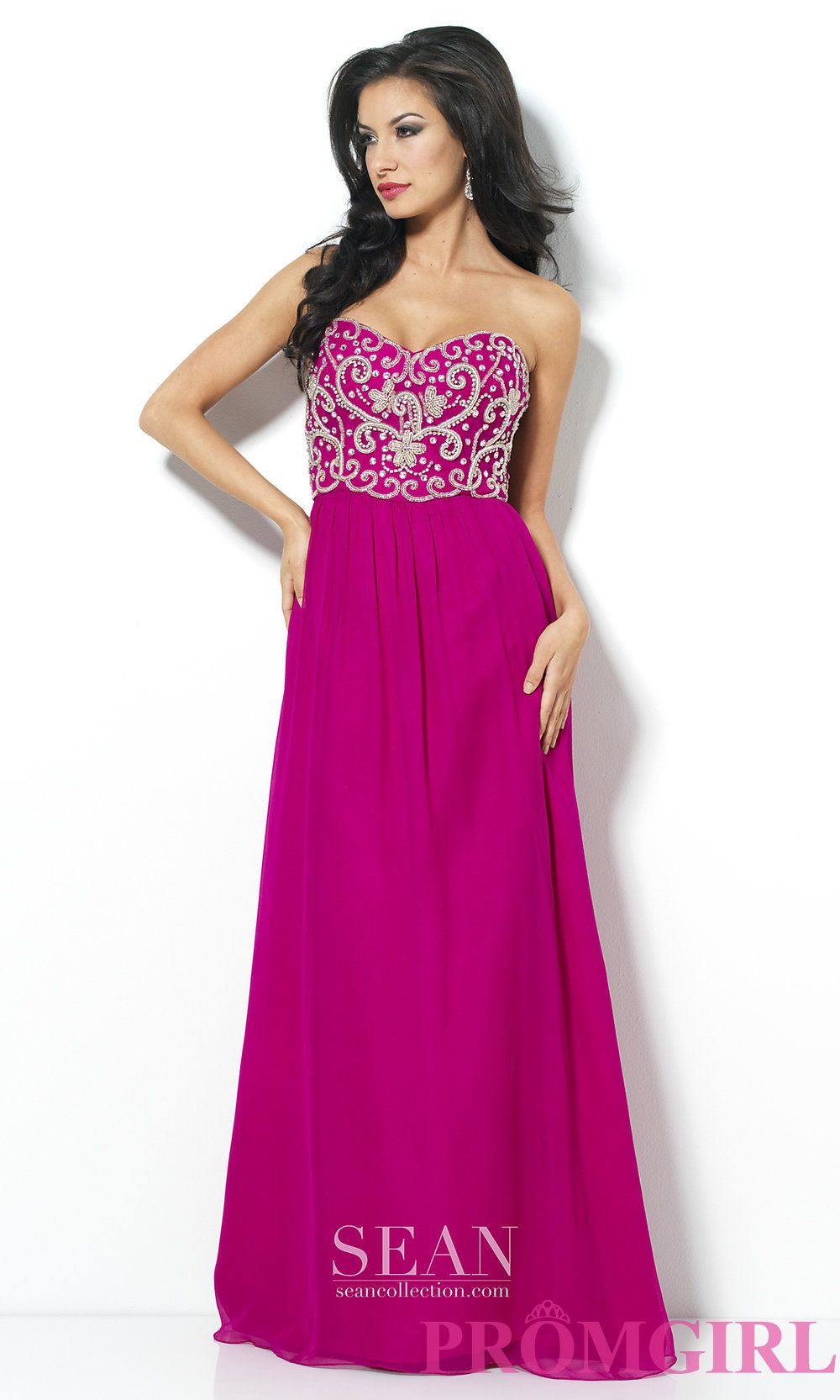 Long Prom Dress Style: SN-50511 Front Image   Prom   Pinterest