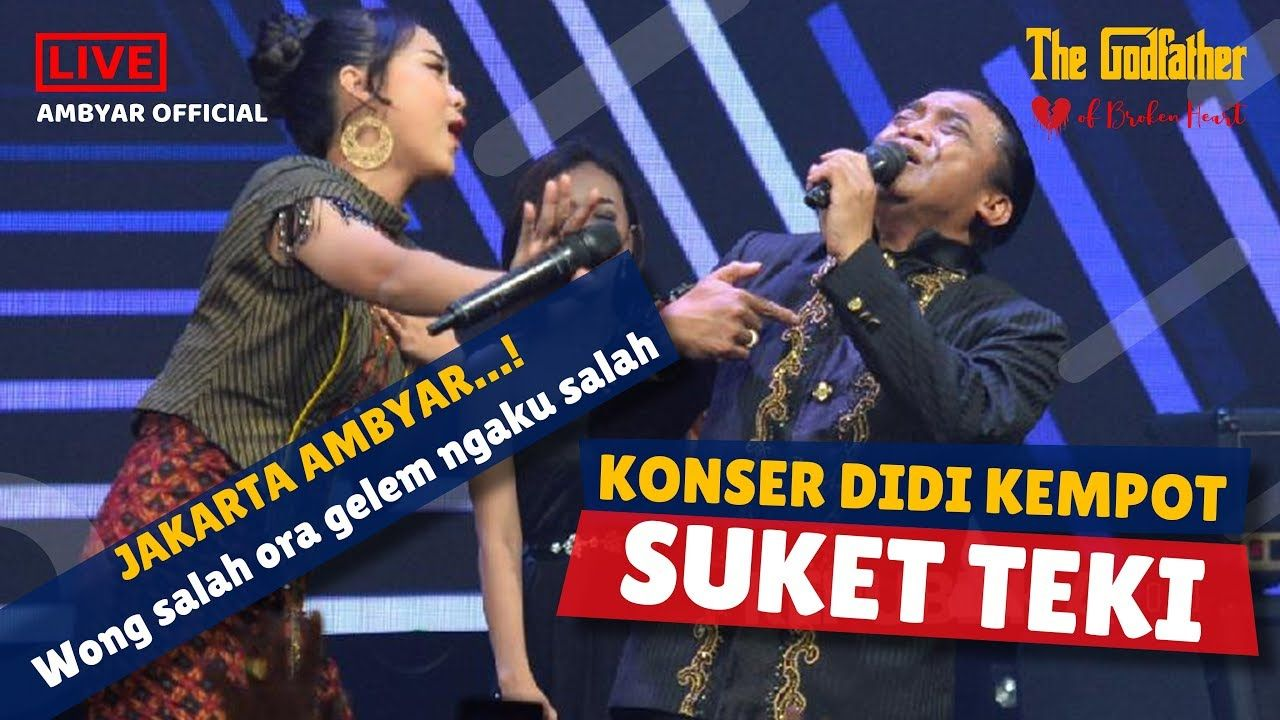 Konser Didi Kempot Suket Teki Gegerkan Sobat Ambyar Di Jakarta