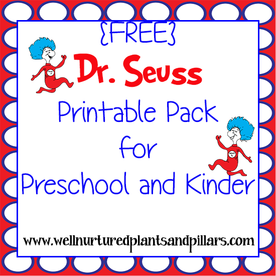 FREE Dr. Seuss Printables Pack | Seussational Stuff | Pinterest ...