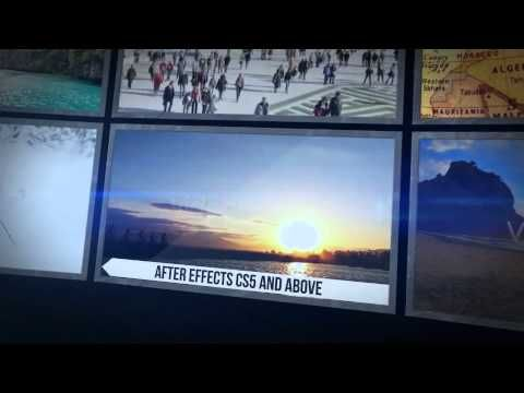 Video Wall After Effects Template