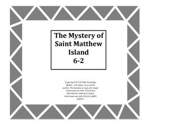 The Mystery of Saint Matthew Island Trifold Activity