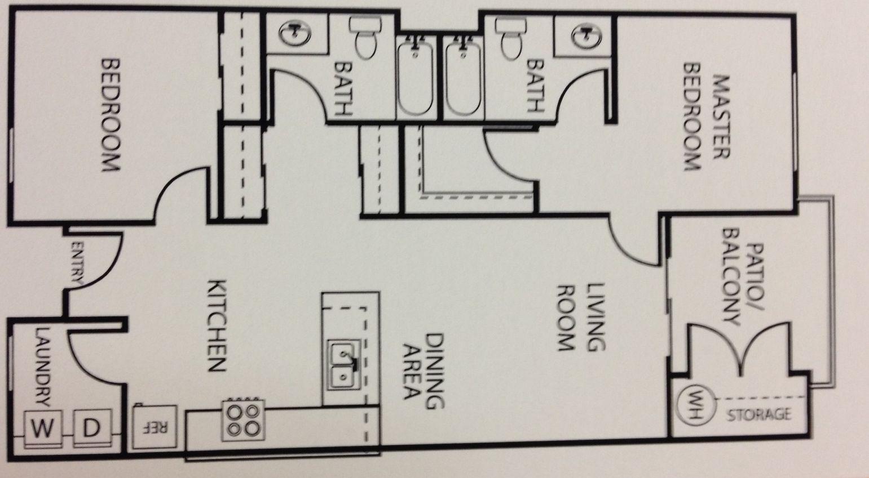 Rancho Montanas Senior Housing In Phoenix Az After55 Com Senior Apartments Rancho 2 Bedroom Floor Plans