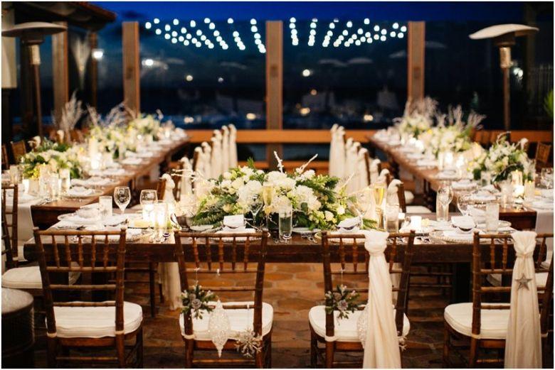 Oceanfront Wedding Reception At The La Jolla Shores Hotel Near San