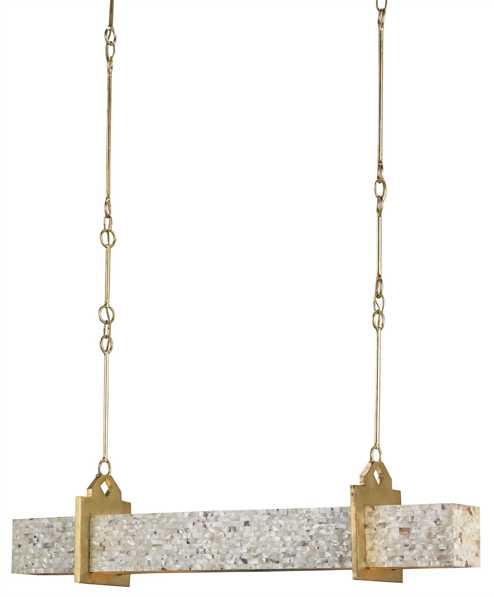 Oasis Rectangular Chandelier design by Currey & Company