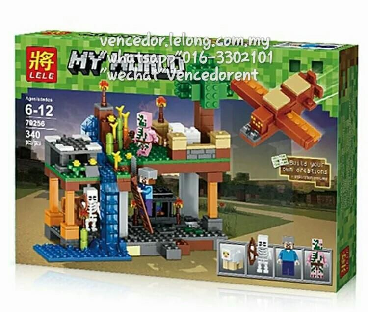 Lego Compatible Lele 79256 Minecraft Series Building Blocks