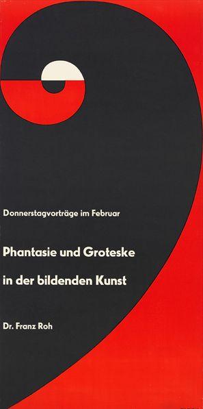 Otl Aicher | Phantasie und Groteske in der bildenden Kunst (1955)