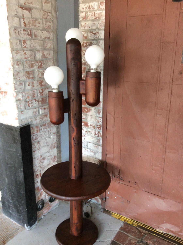 Mid Century Modern Cactus Floor Lamp Mid Century Modern Wood