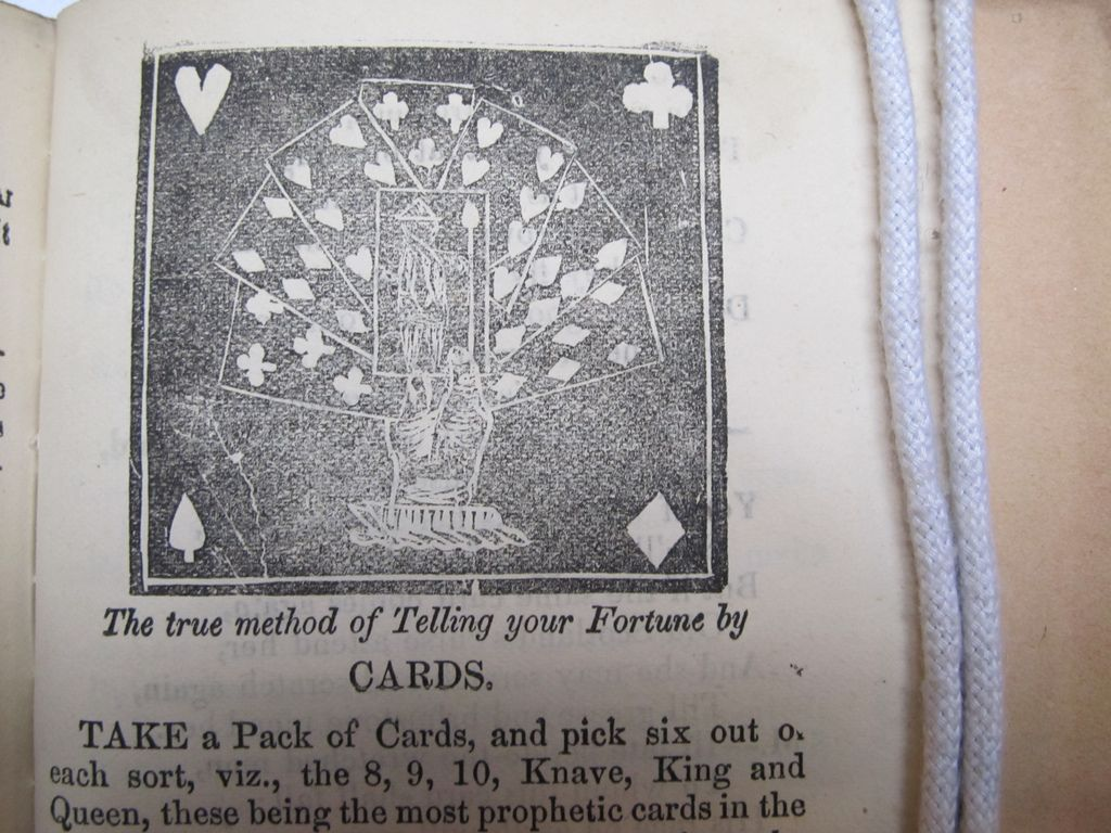 Detail from The Spaewife -- Telling Your Fortune by Cards | Flickr - Photo Sharing!