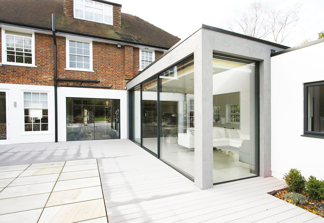 Modern Glass Extensions corner garden window - google search | extensions | pinterest
