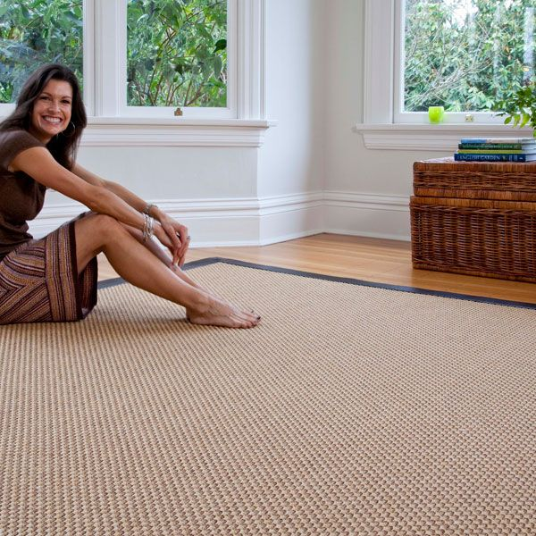 Synthetic Sisal Style Name Oxford Color Nutmeg With Faux Leather Finish Sisalcarpet Com 7 Sq Ft Synthetic Sisal Rug Faux Sisal Faux Sisal Rug