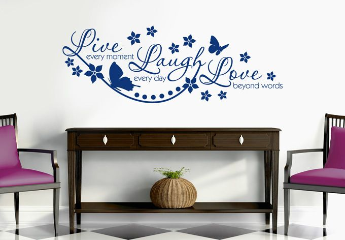 Wall-Stickers - Live Every Moment...