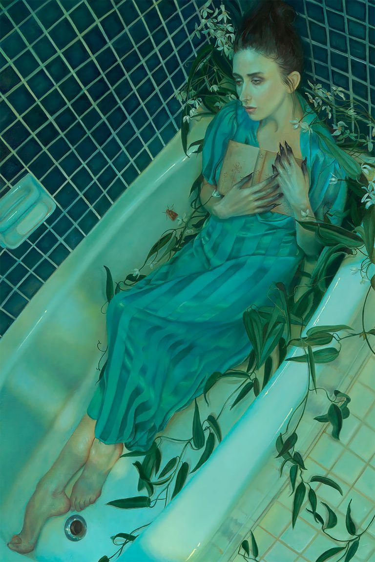 Hauntingly Beautiful Ophelia Paintings Seduce You From Beneath The Water's Surface