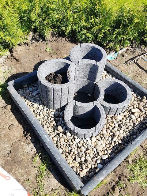 Photo of Cama de hierbas hecha de anillos de plantas – Dauercamper.info