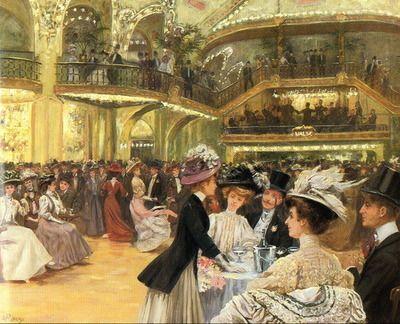 Le Bal Du Moulin Rouge By Jean Andre Rixens Paris