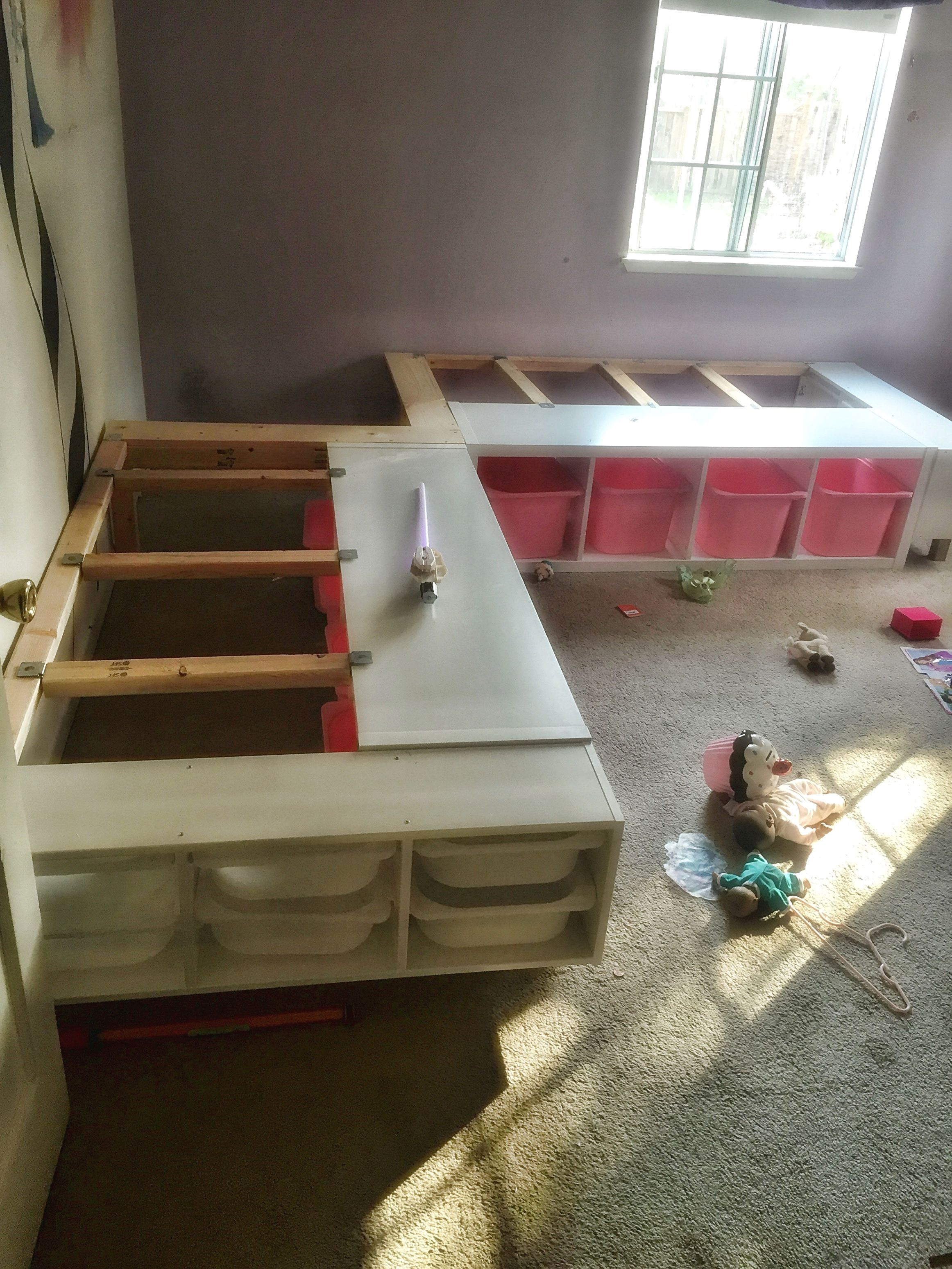 l shaped twin beds ikea on boy room design decor tips anyone may benefit from corner bed frame bed in corner shared girls bedroom pinterest