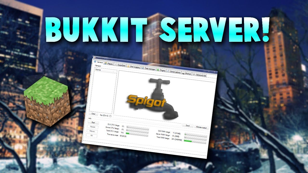 ▻ Minecraft: How to make a Bukkit server for Minecraft 1 8